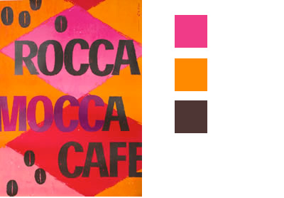 Image of a color scheme image with value contrast
