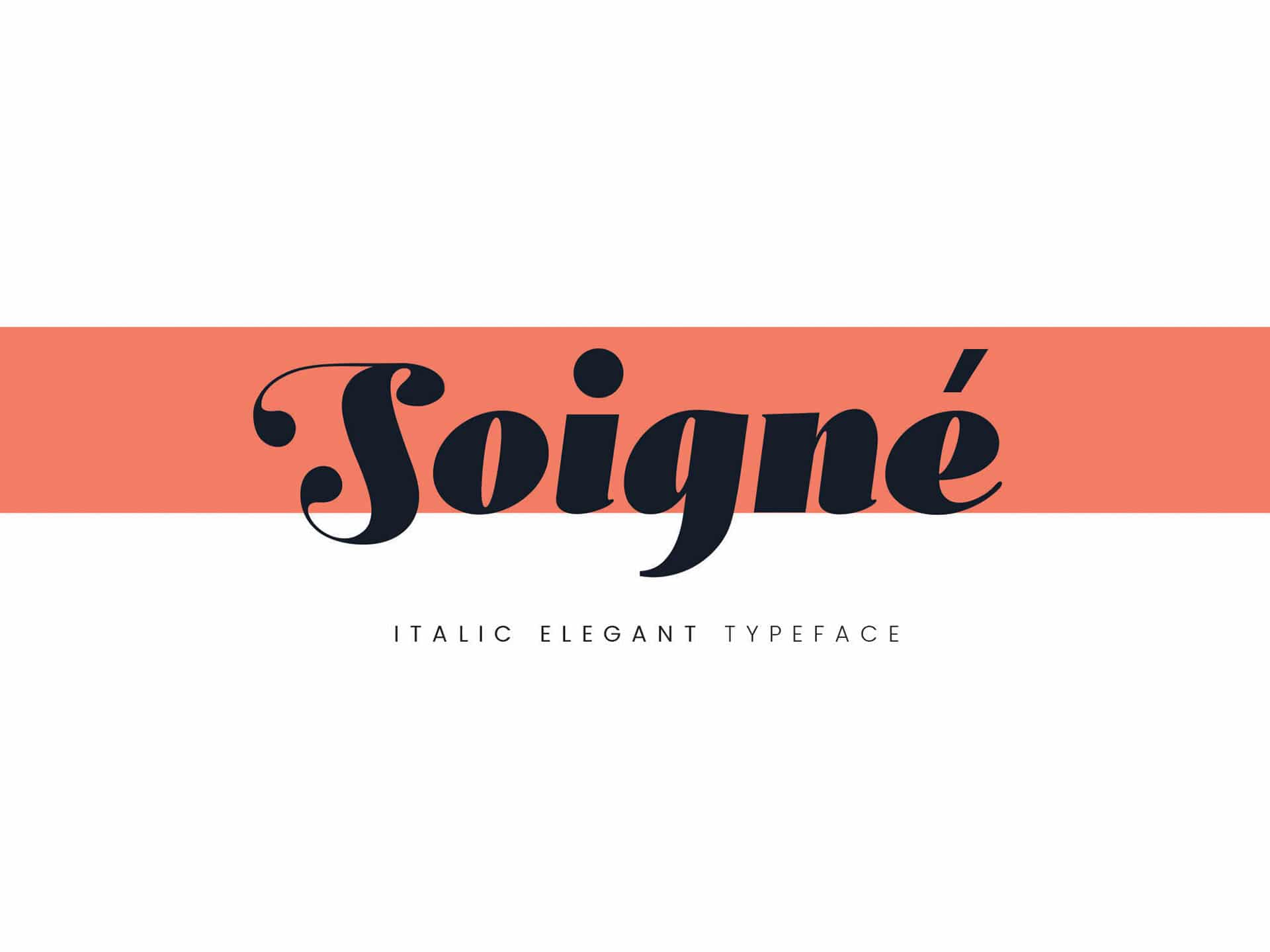 Soigne Is A Stylish Elegant And Bold Font That Would Work Perfectly For Clients In Fashion Design The Arts Subtly Italic Although Not