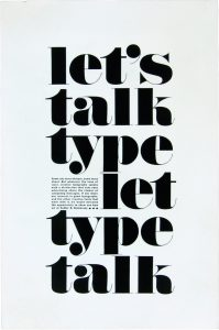 Let's Talk Type by Herb Lubalin