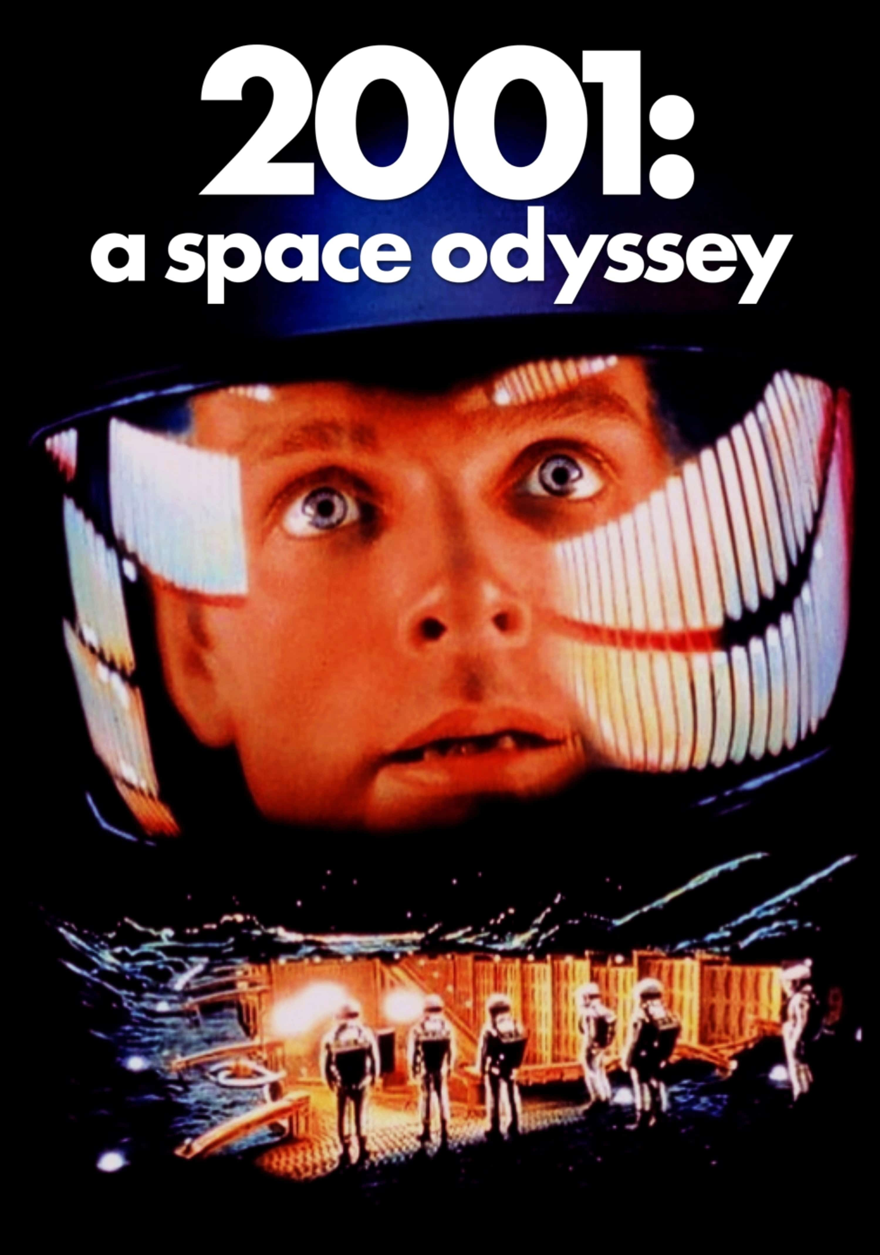 2001 A Space Odyssey Dvd Cover Art