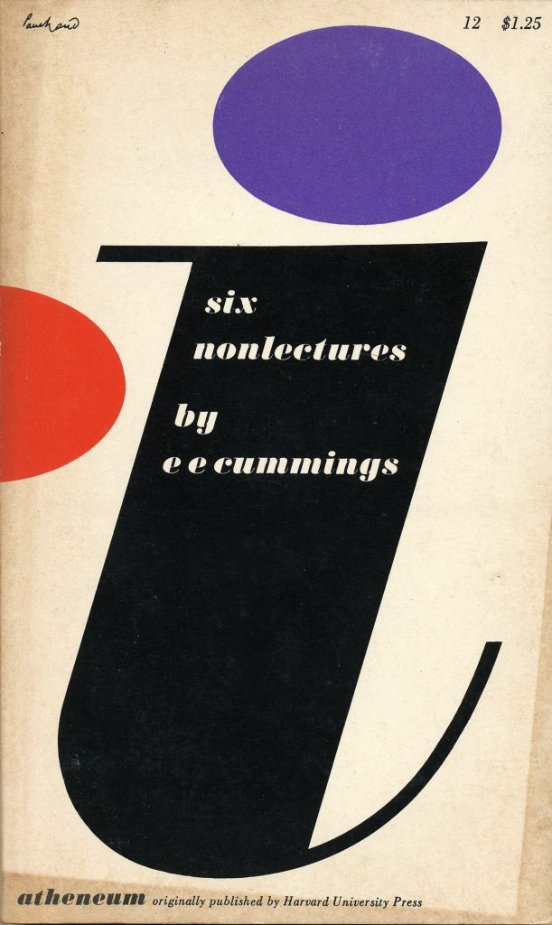E.E. Cummings Book Cover Design