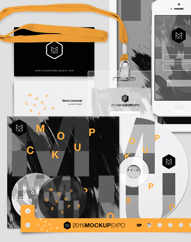Branding & ID Mockup