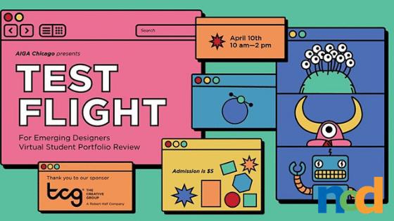 AIGA Chicago Presents Test Flight - Virtual Portfolio Review for Designers