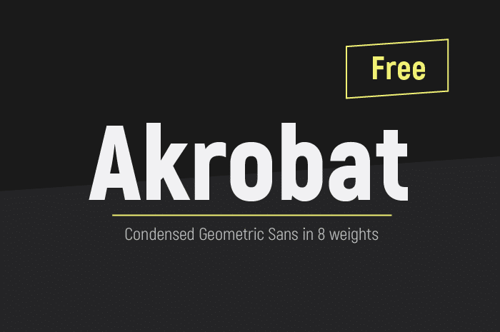 Free Font Friday: Akrobat - Notes on Design | Sessions College