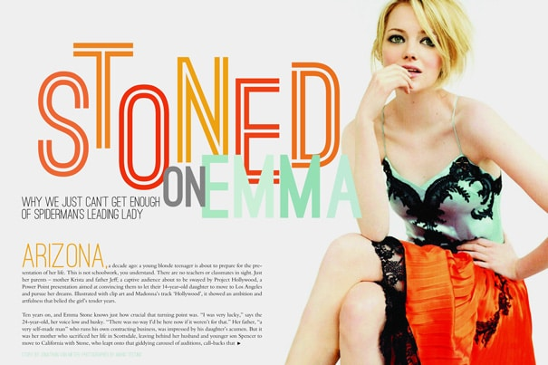 Cate Reynolds magazine layout