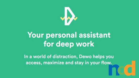 Dewo - Deep Work Personal Assistant