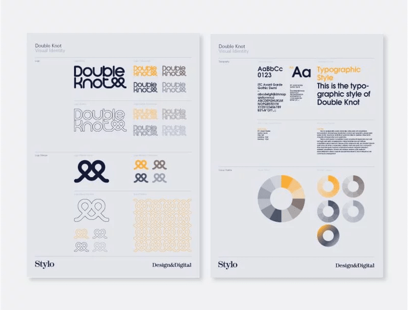 DoubleKnot brand identity - Becoming a brand -