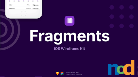 Fragments iOS Wireframes