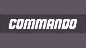 Free Font Friday - Commando