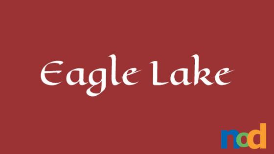 Font Friday - Eagle Lake