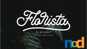 Free Font Friday - Florista