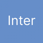 Free Font Friday - Inter