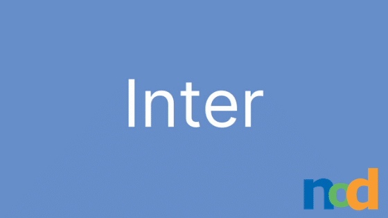 Free Font Friday - Inter