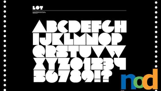 Free Font Friday - Lot - Sessions College