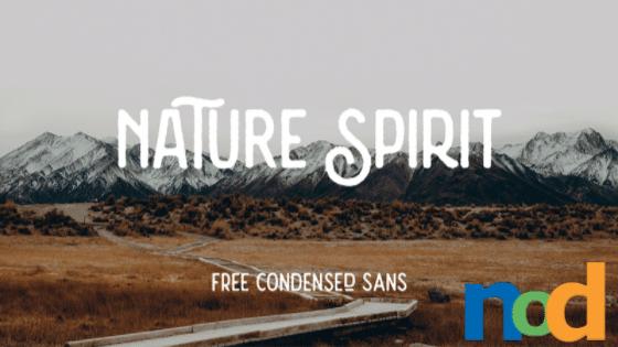 Free Font - Nature Spirit