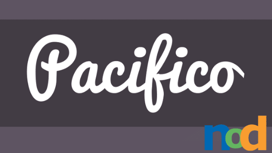 Free Font Friday - Pacifico - Sessions College