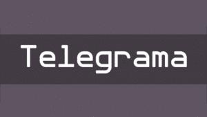 Free Font Friday - Telegrama