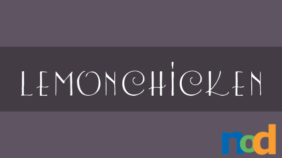 Free Font Friday_ Lemon Chicken