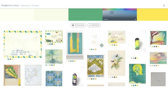Google's Art Palette 3