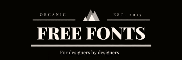 17 Free Fonts for Designers