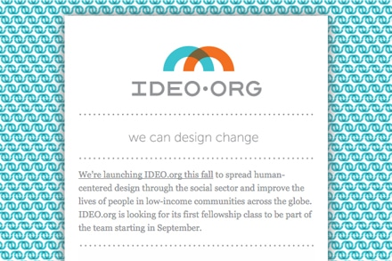 for Ideo university