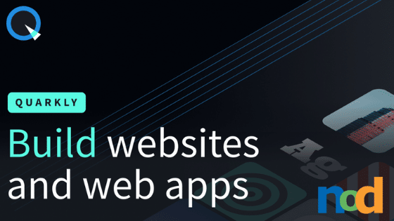 Quarkly - Quickly Create Websites and Web Apps