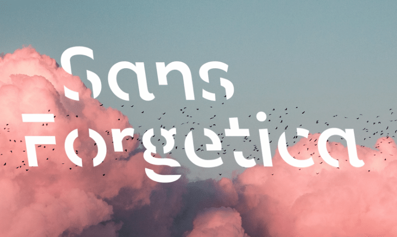 Sans forgetica - free font friday - sessions college for professional design