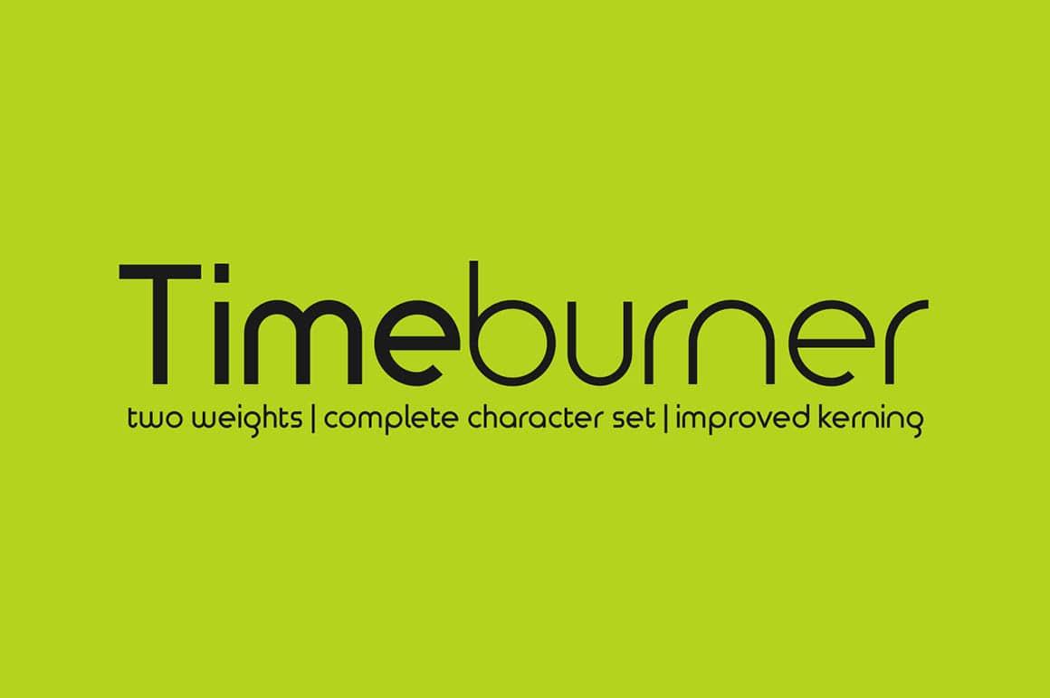 Free Font Friday Timeburner - Notes on Design