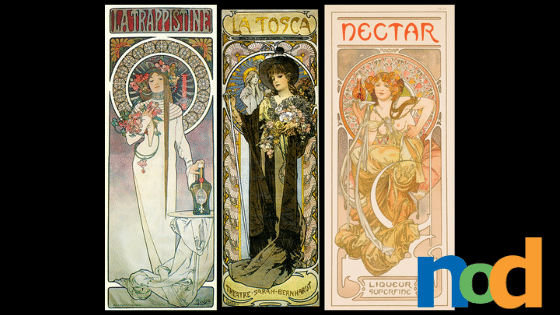 Why They Work - Alphonse Mucha