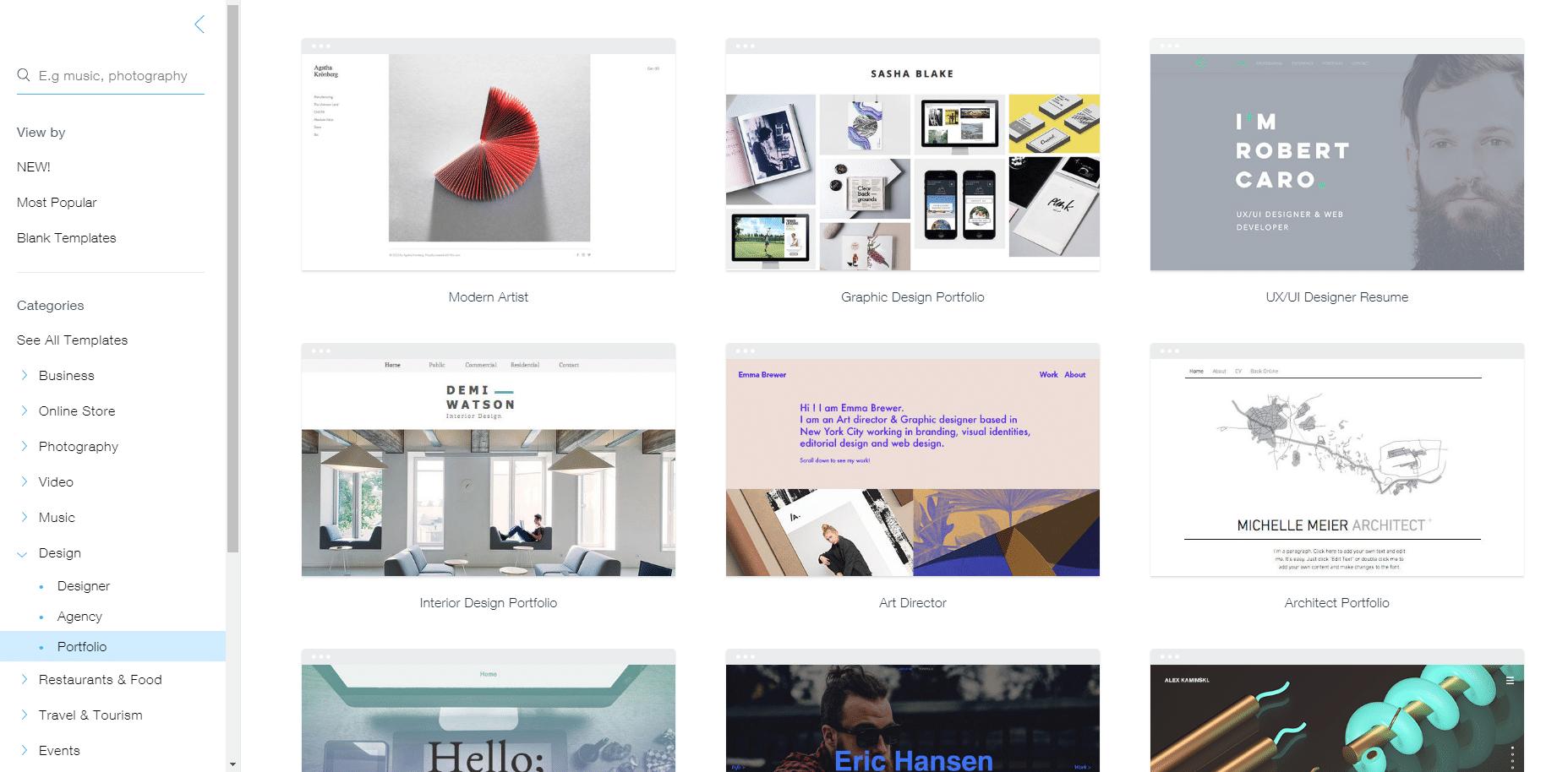 Top 10 Portfolio Sites For Designers