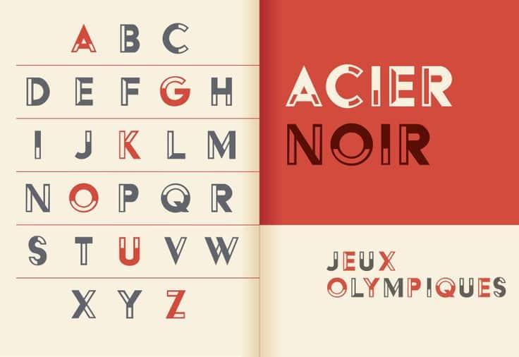 Image result for cassandre+acier font