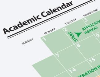 Academic Calendar Sessions College