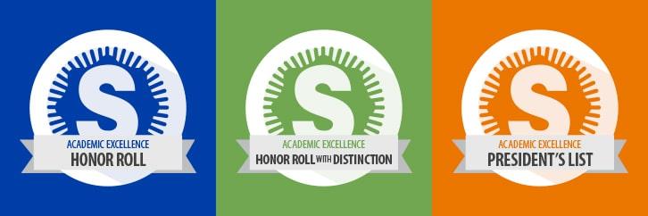 Academic excellence program logos