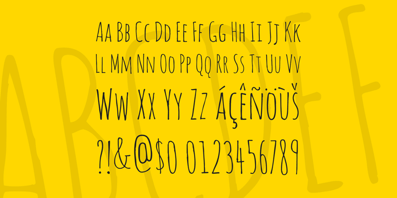 amatic-sc-latin-alphabet