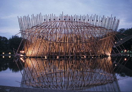 Bamboo Pavilion by Rocco Yim