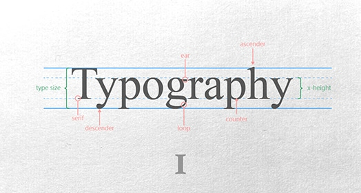 Basic typography course image