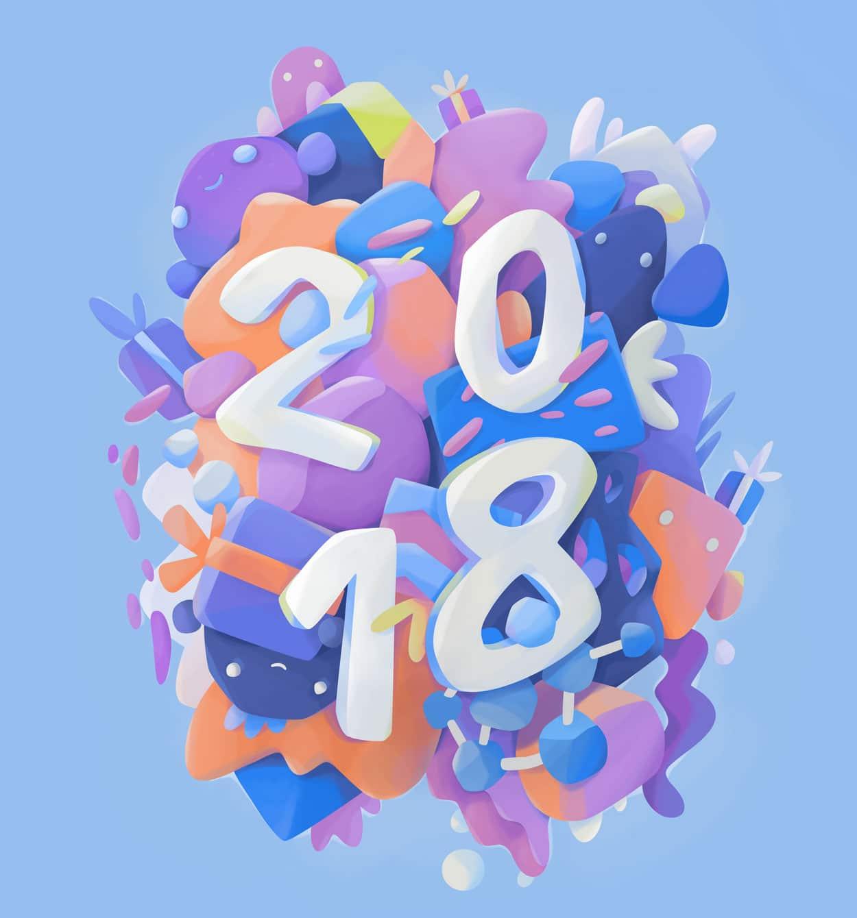 Graphic Designer Trend: Three Graphic Design Trends For 2018