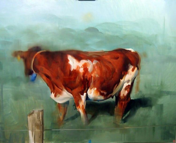 benjamin bjorklund cow portrait
