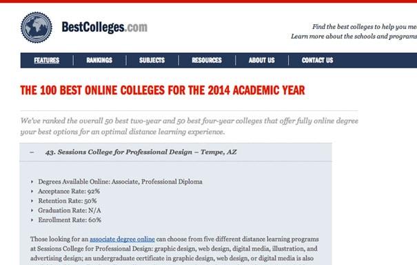 Best colleges site
