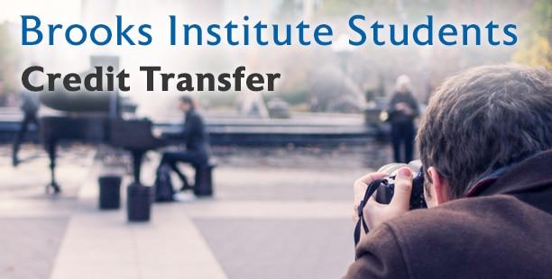 Brooks Institute credit transfer image