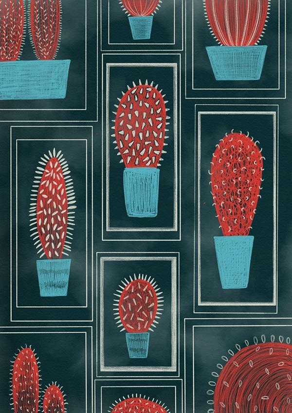Cacti by Zoe Fallows