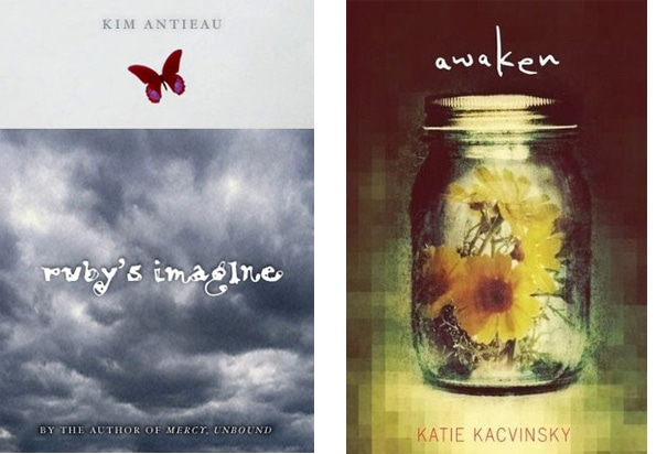 Ruby's Imagine and Awaken, book designs by Carol Chu
