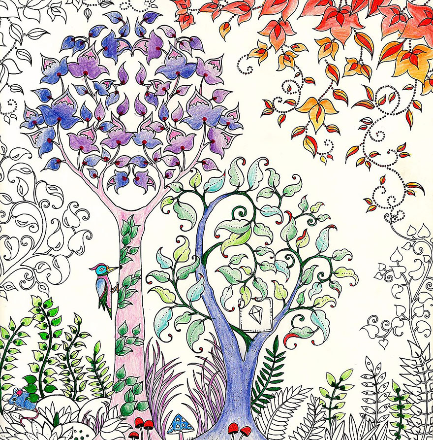 Illustrating Adult Coloring Books - Notes on Design