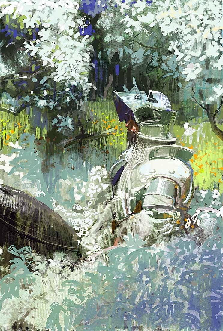 craig mullins shiny_white_knight
