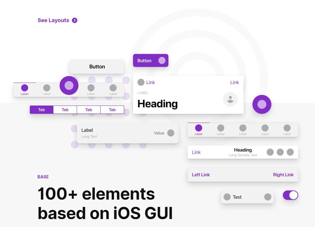 fragments ios wireframes tool