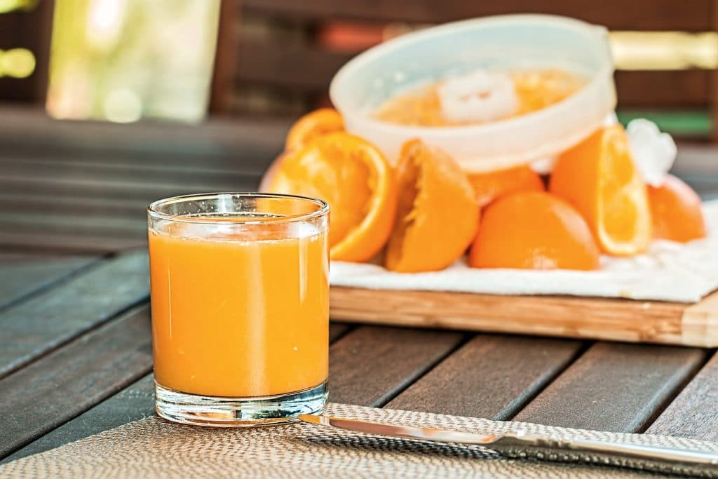 Fresh Orange Juice by Steve Buissinne
