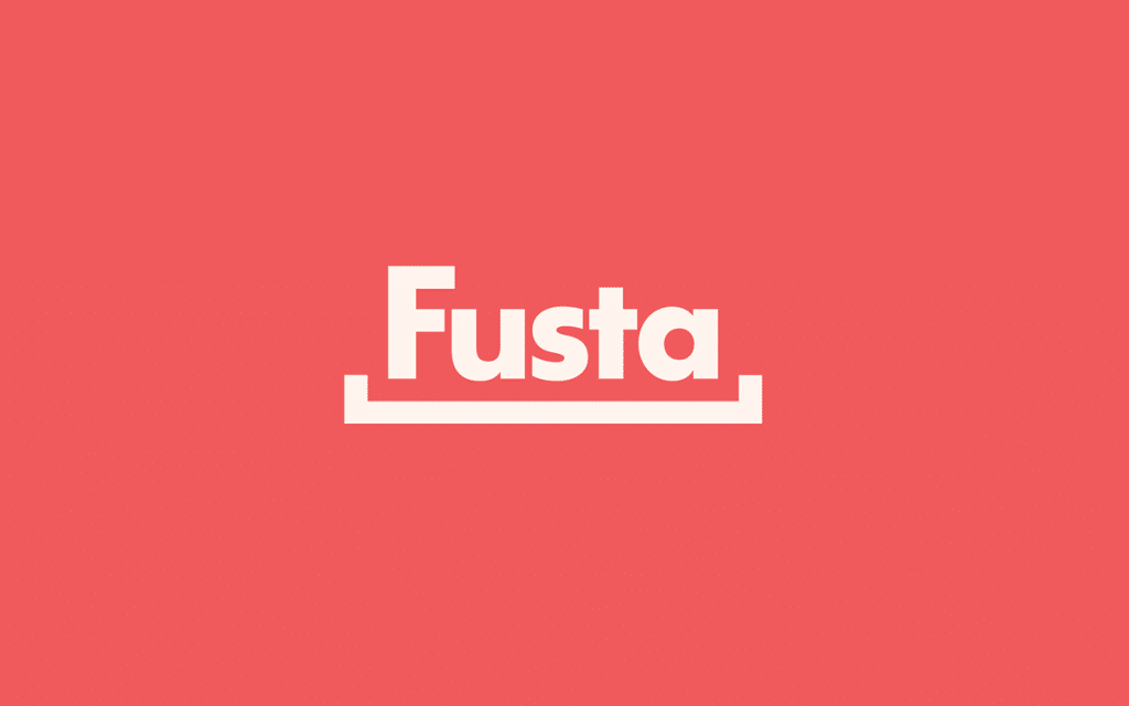 Fusta Logo by Name.