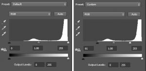 general-levels-adjustment - clean lines