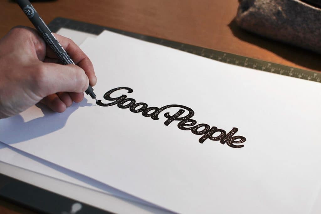 Inking of Good People Logo