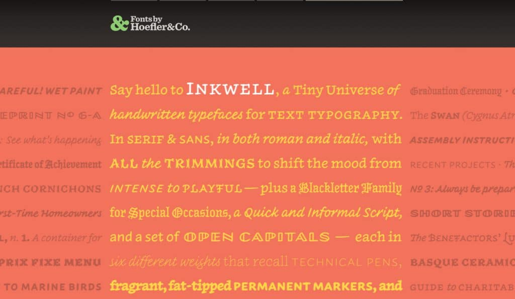 Best Independent Type Foundries - Notes on Design | Sessions